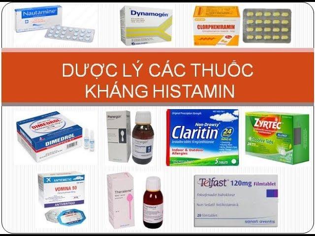 Thuốc kháng histamin trị á sừng