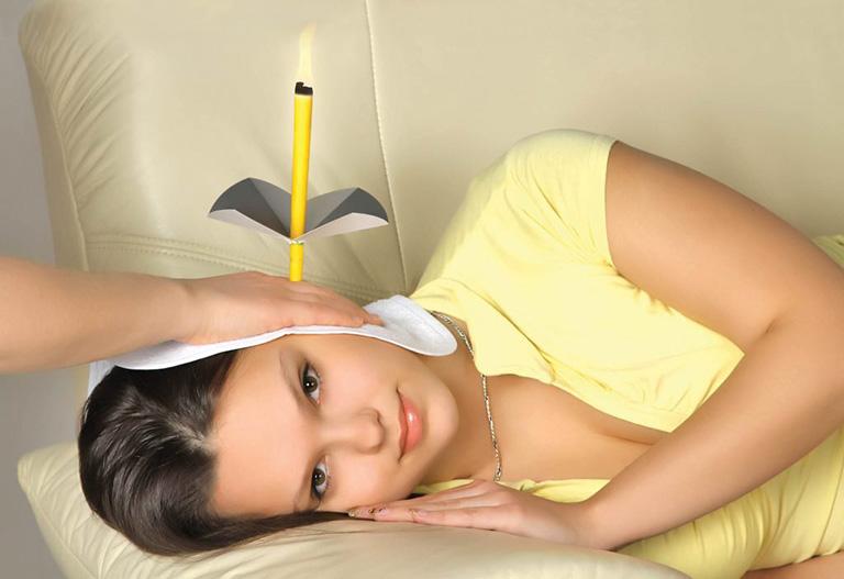 chữa viêm tai giữa bằng xông hương