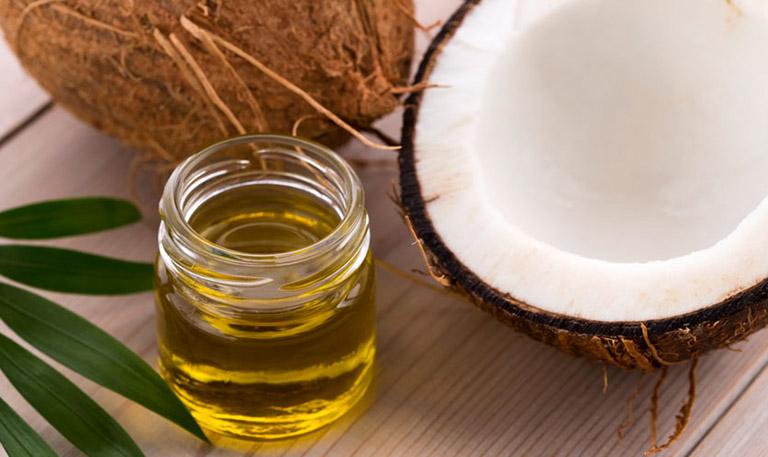 trị viêm da cơ địa bằng dầu dừa