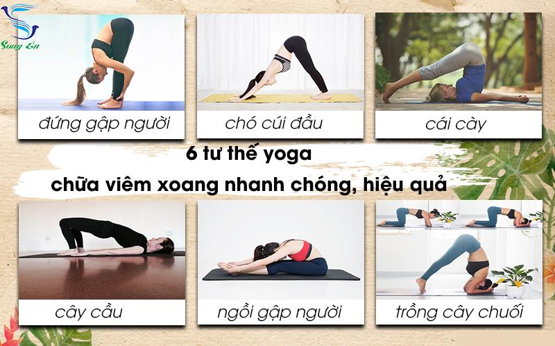 Chữa trị viêm xoang bằng cách tập yoga