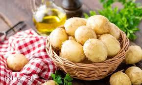 Khoai tây giúp trị bệnh eczema