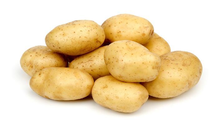 khoai tây trị chàm móng tay