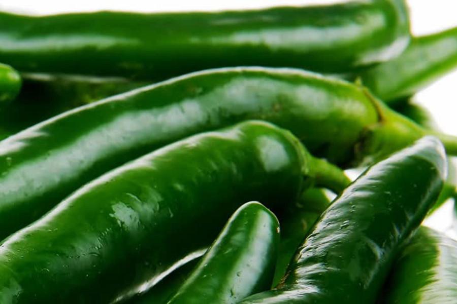 Ớt xanh giúp giảm béo bụng hiệu quả
