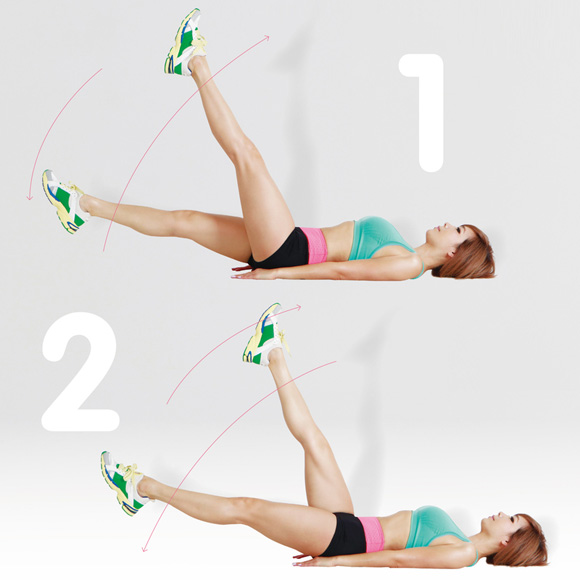 Bài tập yoga giảm cân trước lúc đi ngủ với động tác xoay người