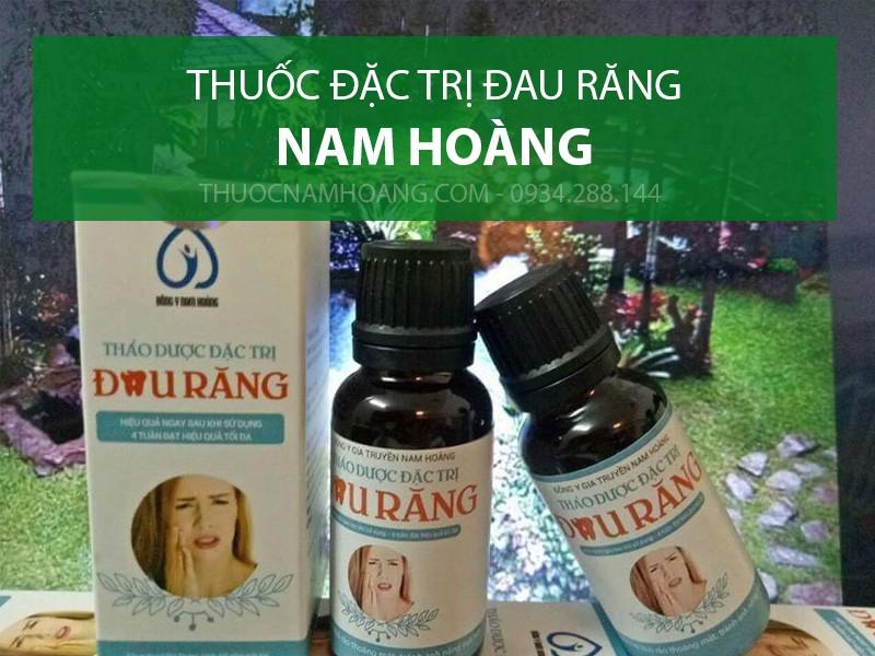 thuốc điều trị đau răng Nam Hoàng