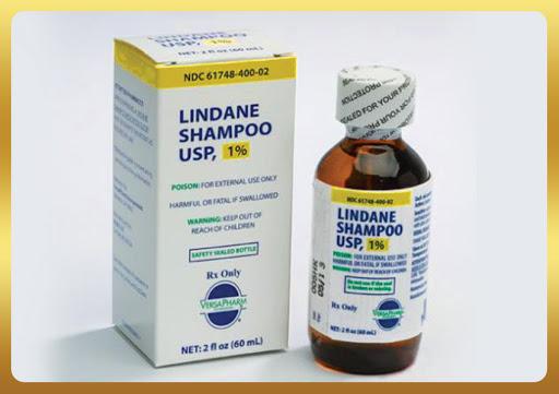 Lindane 1% trị ghẻ nước