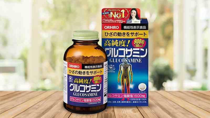 Glucosamine Orihiro trị xương khớp nhật