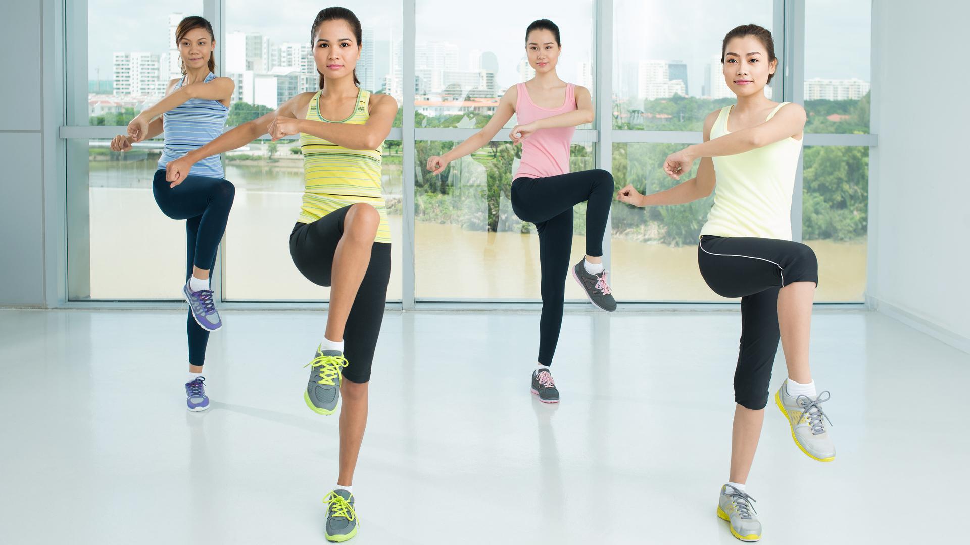 Luyện tập Aerobic có thể giảm đau lưng