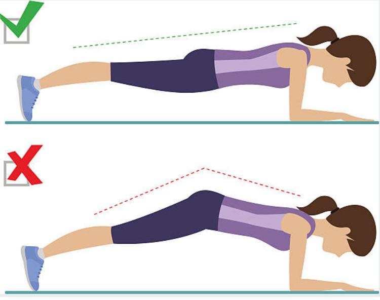 Bài tập plank trị đau lưng