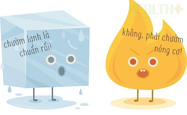 Đau lưng nên chườm nóng hoặc lạnh để giảm đau