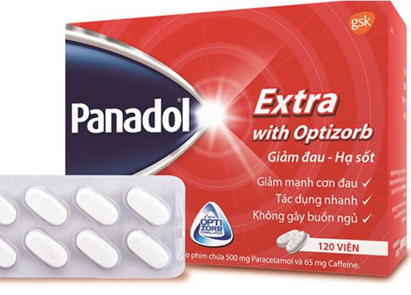 Thuốc bớt đau thông thường Paracetamol