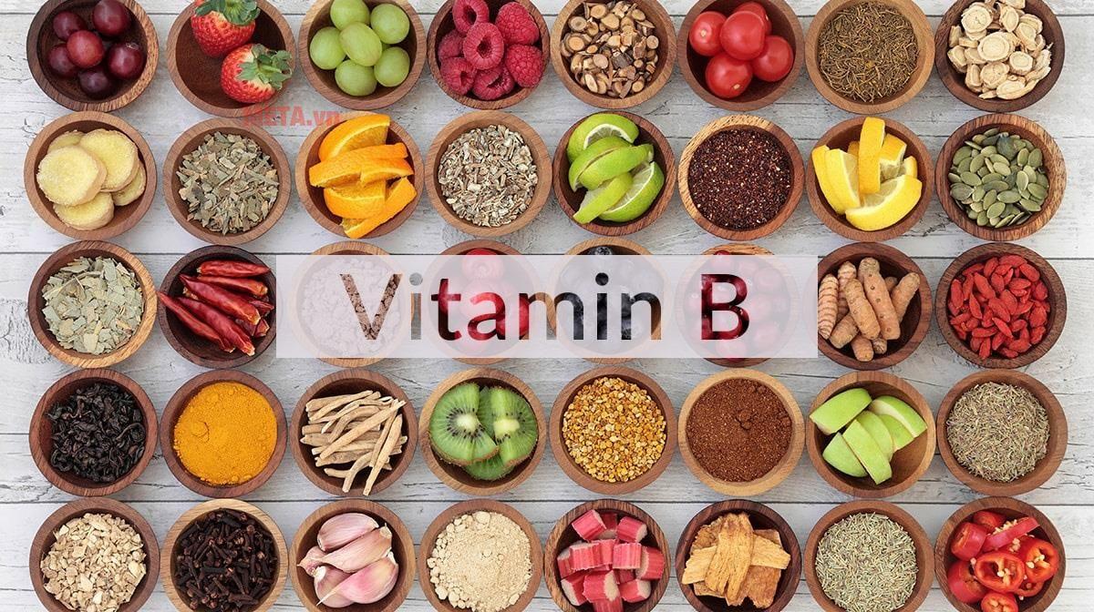 Vitamin nhóm B giảm đau vai gáy