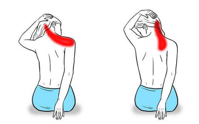 Bài tập di chuyển cổ trị đau vai gáy