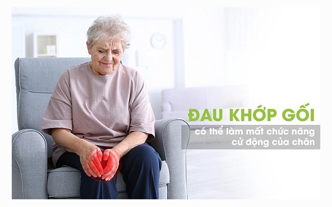 Những dấu hiệu gâu ra Đau khớp gối ở người già