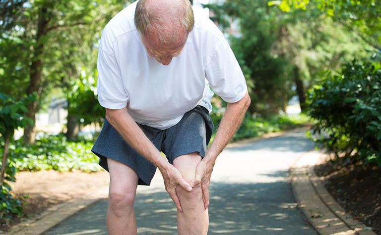 Đau nhức trong xương ống chân