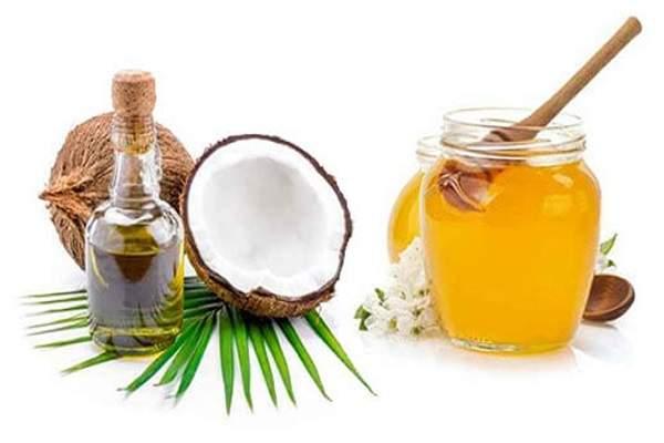 trị viêm da cơ địa bằng mật ong và dầu dừa