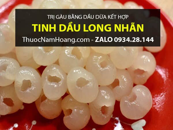 Dầu Dừa kết hợp Tinh Dầu Long Nhãn