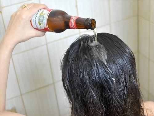 Chữa trị gàu bằng bia kết hợp vitamin B1