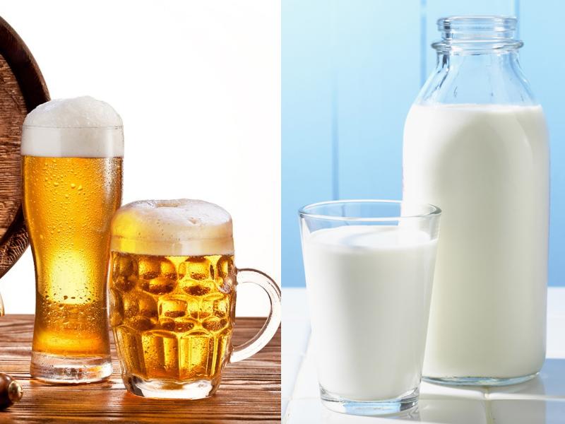 Bia cũng như sữa tươi là bộ đôi hoàn hảo trong việc trị gàu
