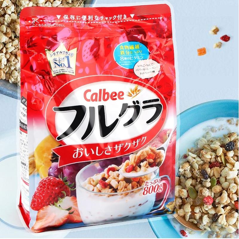 Ngũ cốc Calbee đỏ