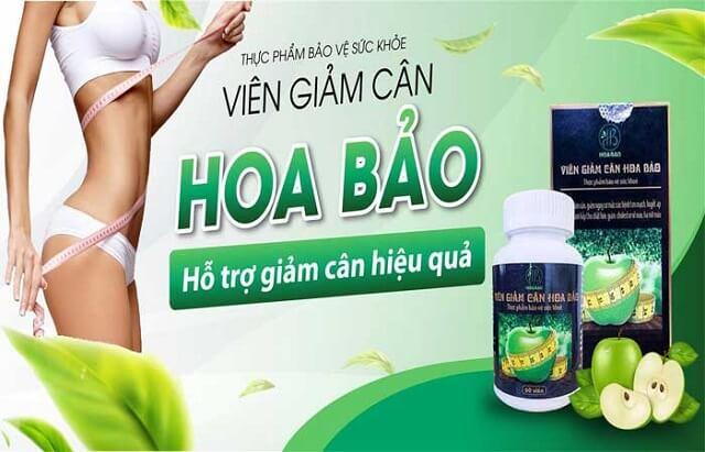 Viên uống giảm cân Hoa Bảo