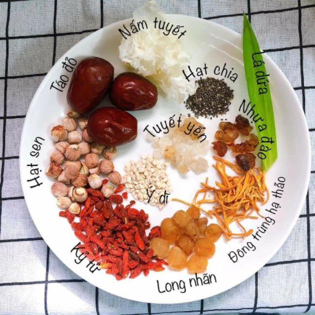Thành phần và công dụng của chè dưỡng nhan