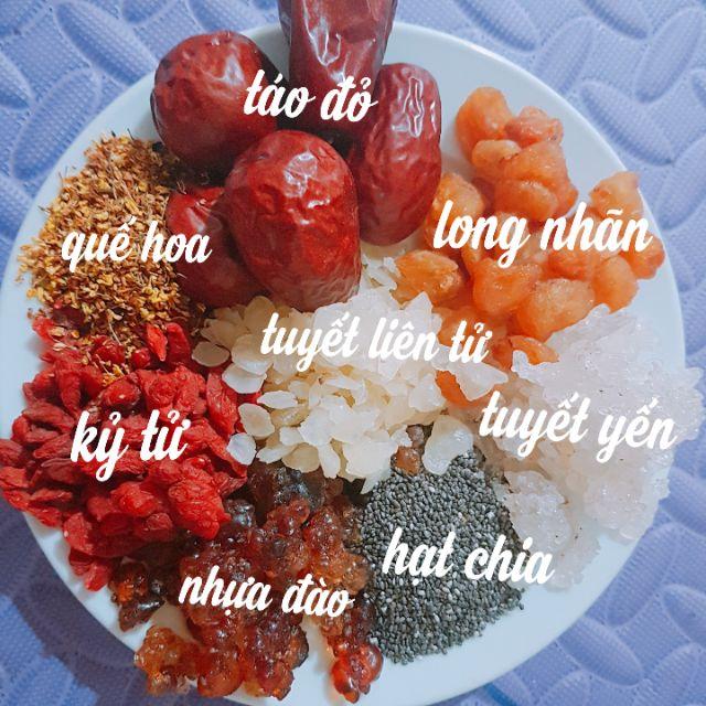 Cách nấu chè dưỡng nhan 11 vị