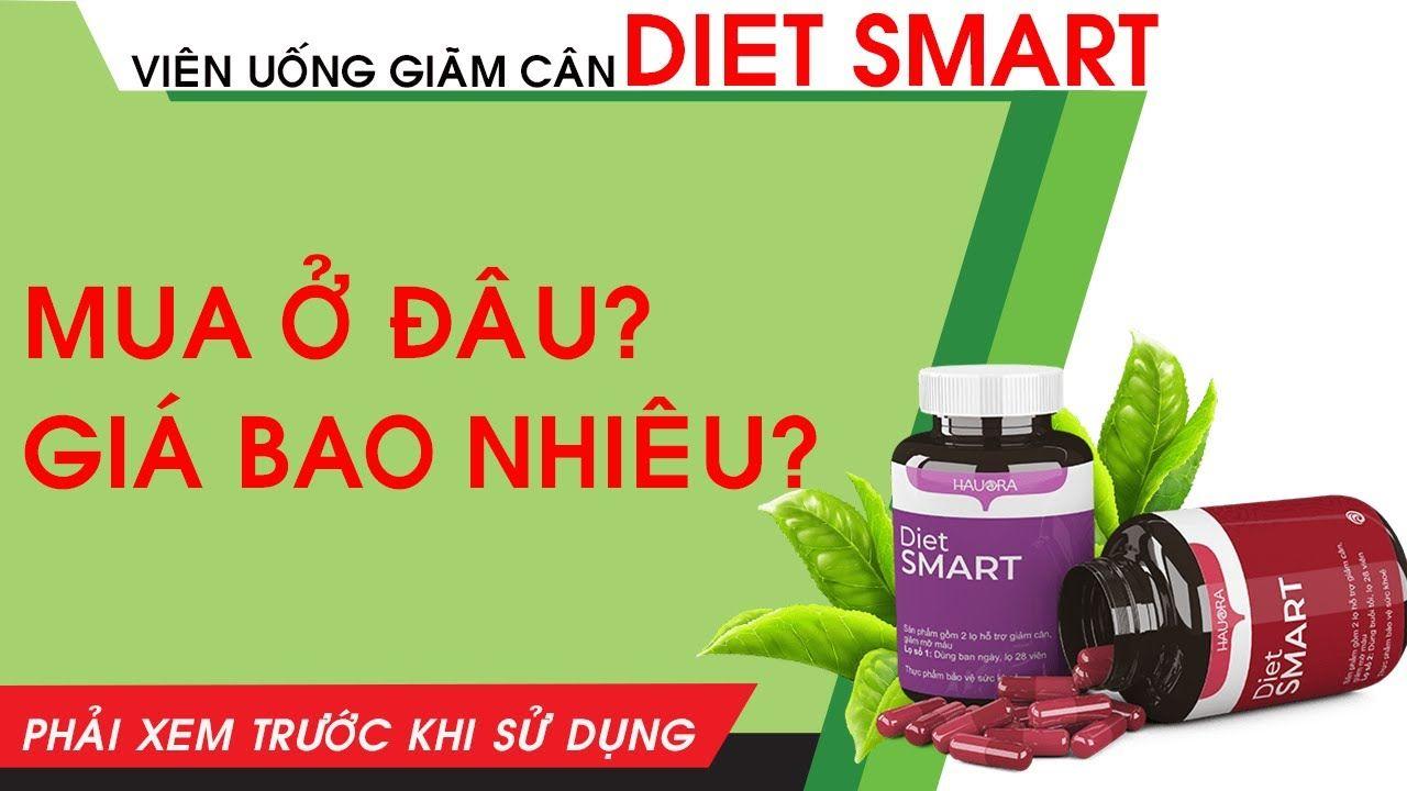 Công dụng Viên Giảm cân Diet smart
