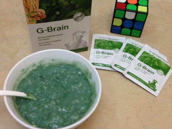 Cách dùng cốm trí não G-Brain hiệu quả nhất