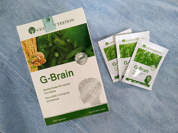 Cốm trí não G-Brain giá bao nhiêu