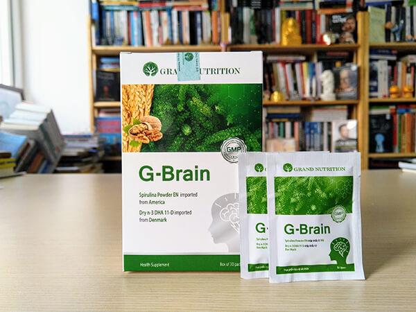 Giải đáp cốm trí não G-Brain có tốt không