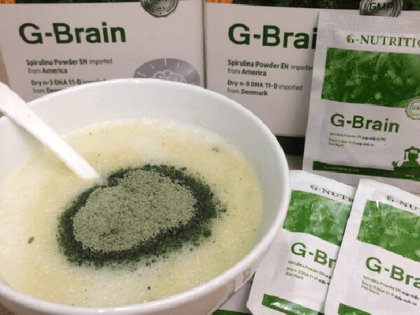 Dùng cốm trí não G-Brain bao lâu mới có kết quả