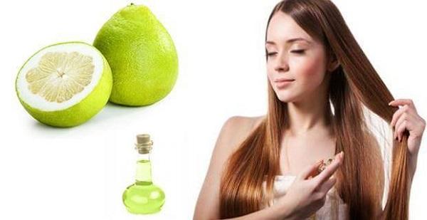 Cách dùng tinh dầu bưởi trị tóc bị rụng