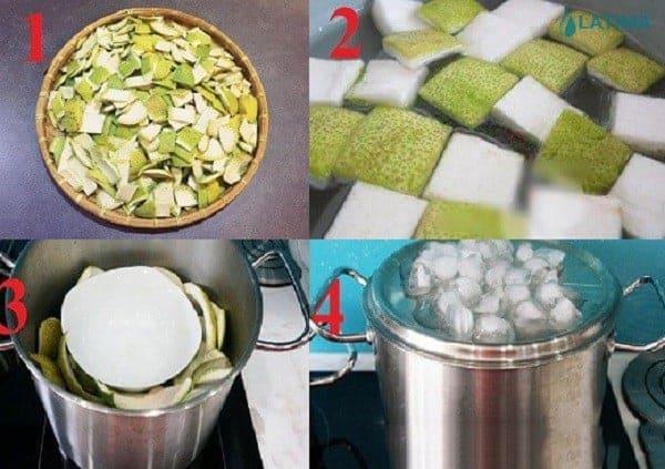 Cách làm tinh dầu bưởi chưng cách thủy