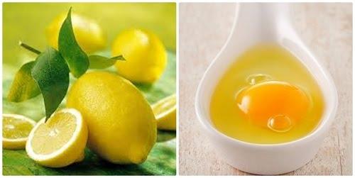 triệt lông nách bằng chanh và trứng gà