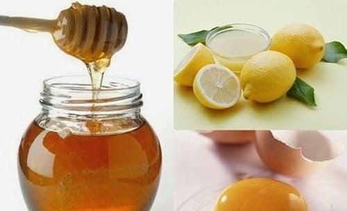 Cách tẩy lông nách bằng mật ong, chanh & trứng gà
