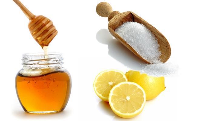 Tẩy lông nách bằng mật ong đường, chanh