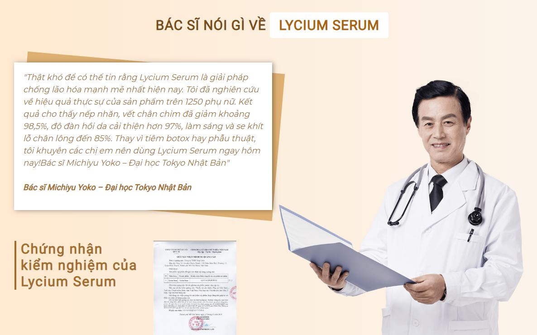 Lycium Serum dành cho ai