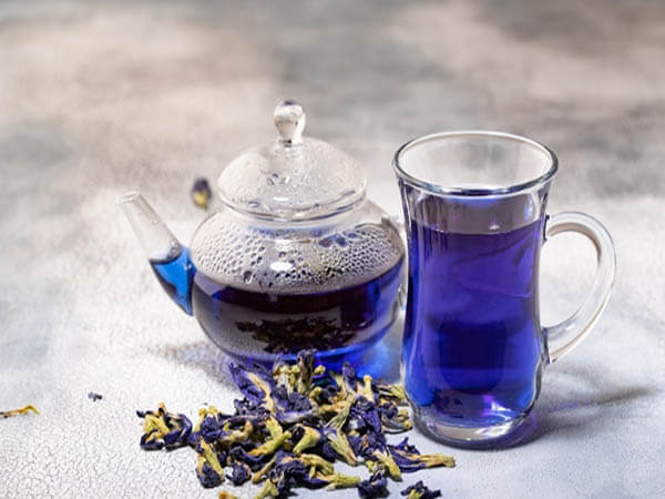 Cách pha trà hoa đậu biếc ngon