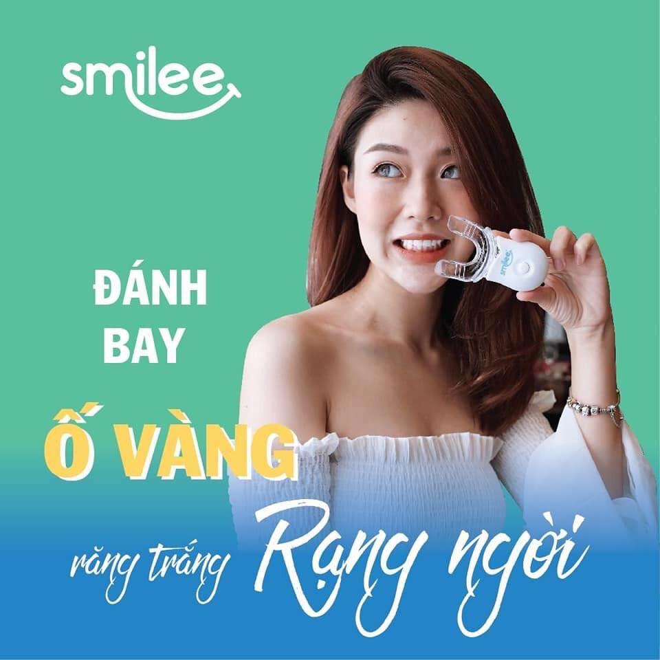 Cách dùng bộ kit trắng răng Smilee