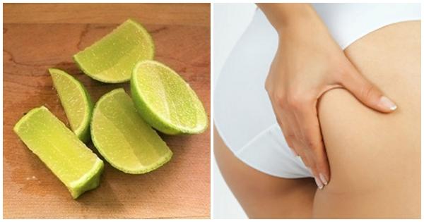 Cách trị mông sần sùi với quả chanh
