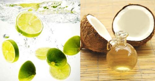 Cách trị thâm háng bằng dầu dừa và chanh