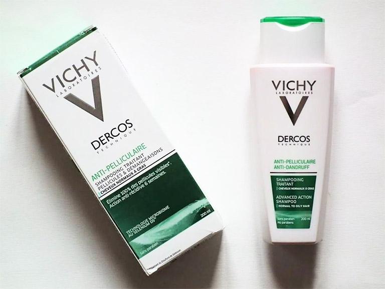 Dầu gội  trị nấm da đầu Vichy Dercos Anti Dandruff