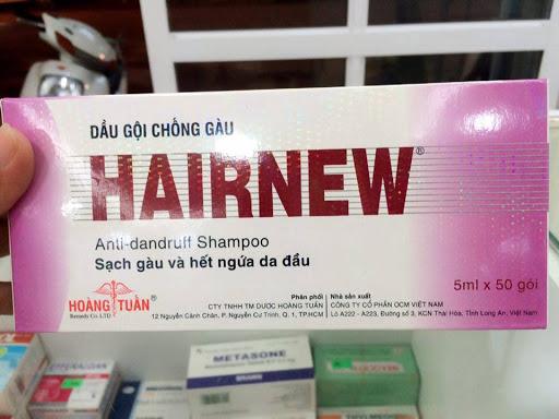 Dầu gội Hairnew chữa trị nấm da đầu