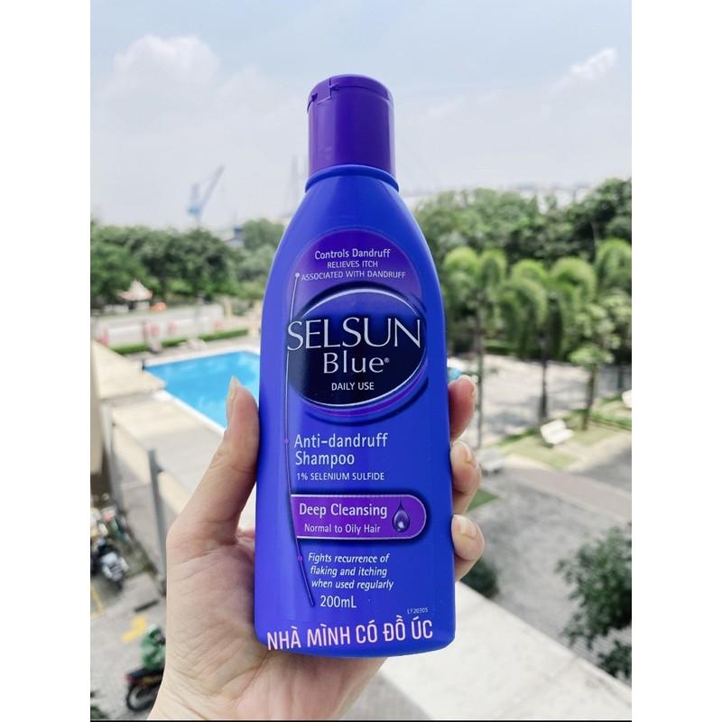 Dầu gội chữa trị nấm da đầu Selsun Blue