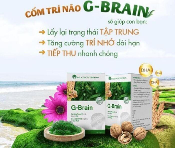 cốm trí não g brain
