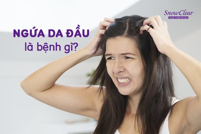 Ngứa da đầu và rụng tóc