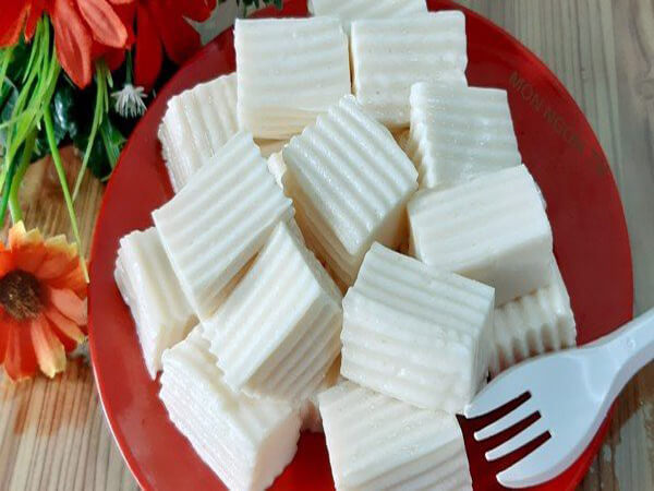 Cách làm thạch từ bột gelatin