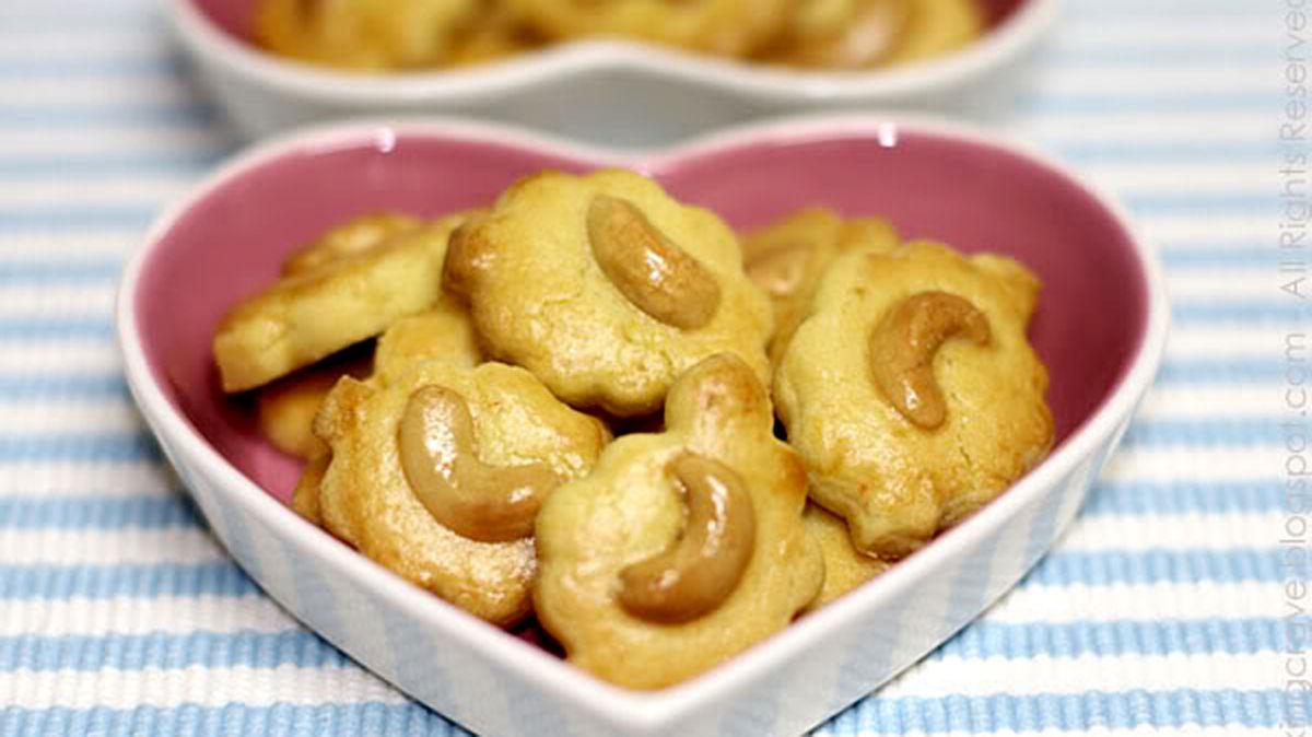 Cách làm bánh hạt điều cookie