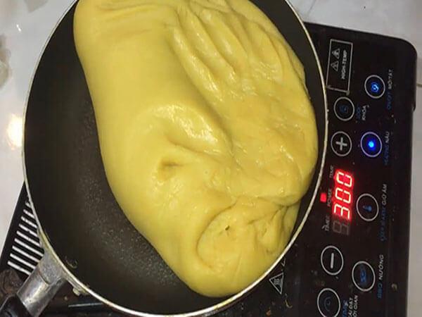 Làm nhân bánh sầu riêng